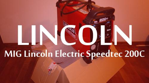 MIG Inverter Electric Speedtec 200C